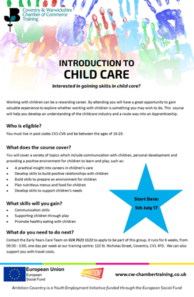child care introduction to children I care for children in a ministry an unlicensed, registered child care ministry is  associated with a faith-based organization, such as a church or synagogue.